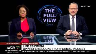 BREAKING | DPP refers Life Esidimeni docket for a formal inquest