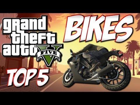 GTA 5 - Top 5 Bikes - Best Bikes in GTA 5!! (GTA 5 countdown