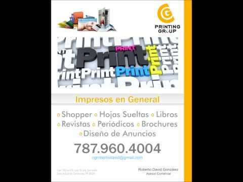 CG Printing Group 787.960.4004 Imprenta Comercial Puerto Rico