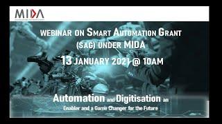 Smart Automation Grant SAG Webinar