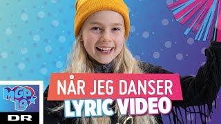 Astrid - Når jeg danser (LYRIC) | MGP 2019