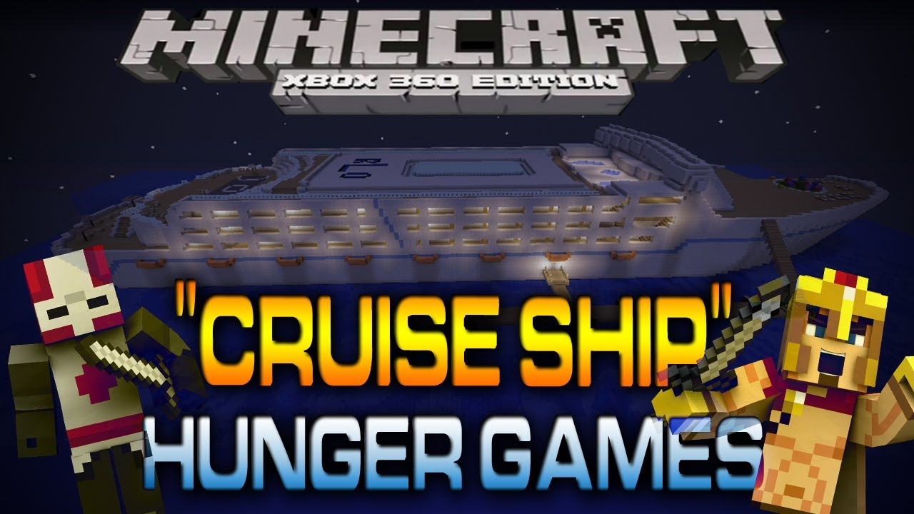 Original Xbox Game Ship : Minecraft xbox quot cruise ship hunger games w saintsfan