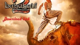 Bahubali 2 Download online and watch