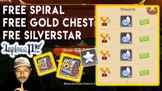 Laplace M - FREE Spiral, Gold Chest, Silver Star FULL PACKAGE