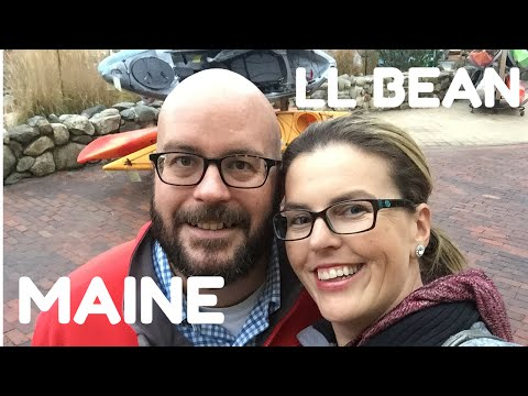 FREEPORT MAINE: LL BEAN!