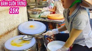 Bánh Cuốn Trứng, Trứng Ốp La 5 người bán không xuể ở Sài Gòn
