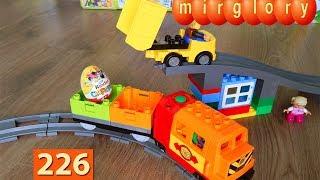 Машинки Мультики про Паровозики Сюрприз Хот Вилс Город машинок 226 серия Мультики для детей игрушки