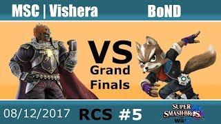 Baixar RCS #5 Smash Wii U GFs - MSC | Vishera (Ganon, Jigglypuff, Falcon) vs BoND (Fox, Falco, Roy)
