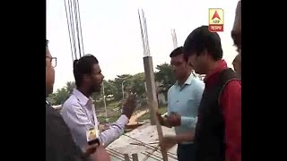 ABP Ananda Journalist and Video Journalist Threatened while covering the News of Fire brok