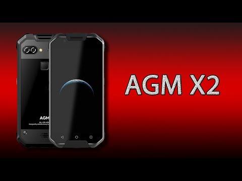 Что может защищённый смартфон AGM X2?
