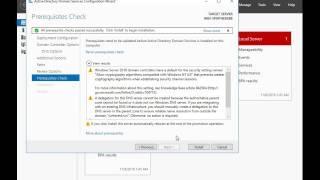 2. Налаштування ролі ADDS [Windows Server 2016]