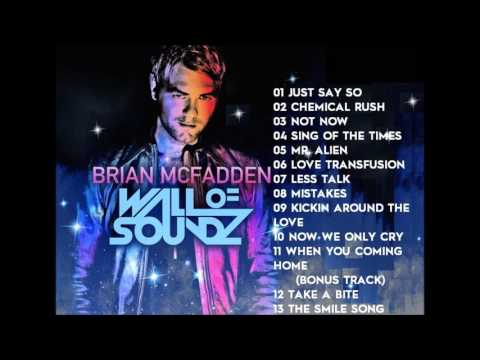 Brian McFadden Wall Of Soundz Full Album