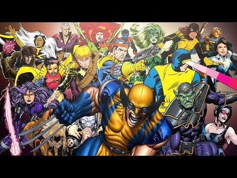 Become An 'X-Men' Expert With This Video Timeline Of (Almost) Every Mutant Ever