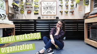 Workshop Organization Tips & Shed-shop Tour