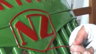 Handlinierung & Beschriftung NORMAG NZ Faktor I F16