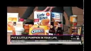 Health Benefits of Pumpkin (10/10/14 on KARE 11)