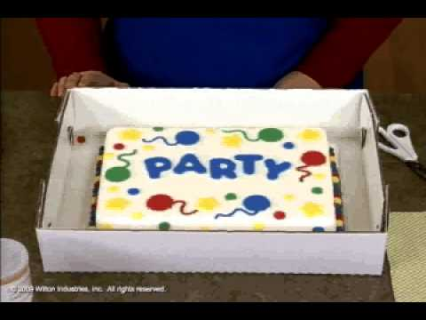 Transporting And Storing Your Decorated Cakes
