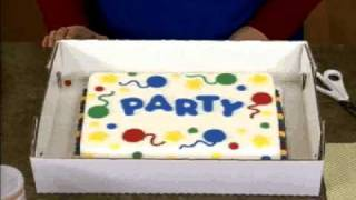 Transporting And Storing Your Decorated Cakes Youtube