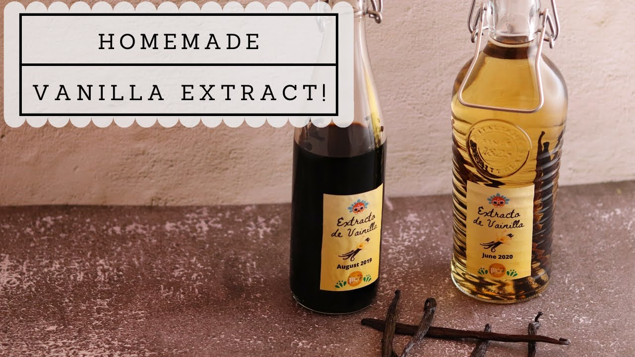 How to make homemade vanilla extract!