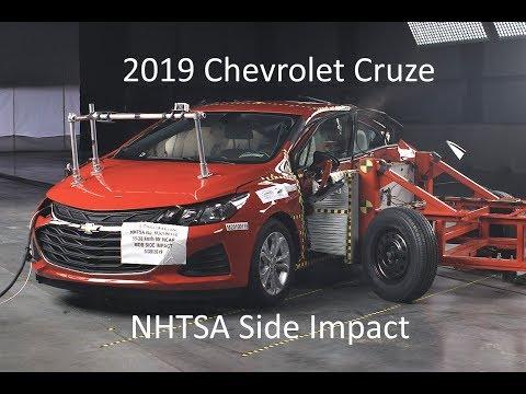 2019 Chevrolet Cruze NHTSA Side Impact