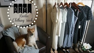 DIY: Rustic Clothing Rack: Affordable