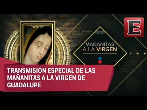 Mañanitas a la Virgen: Programa especial