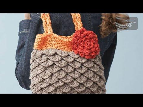 Stitch Along: Crochet Mermaid Tears Purse