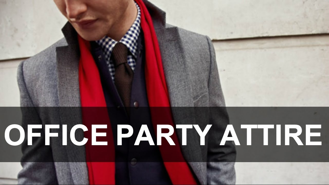 what to wear to your office party mens style
