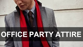 What to Wear To Your Office Party | Men