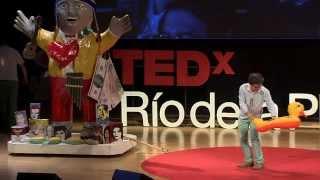 Sub realismo criollo | Marcos Lopez | TEDxRiodelaPlata