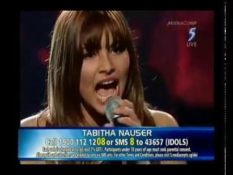 Tabitha Nauser Performs 'Halo' Singapore Idol 2009