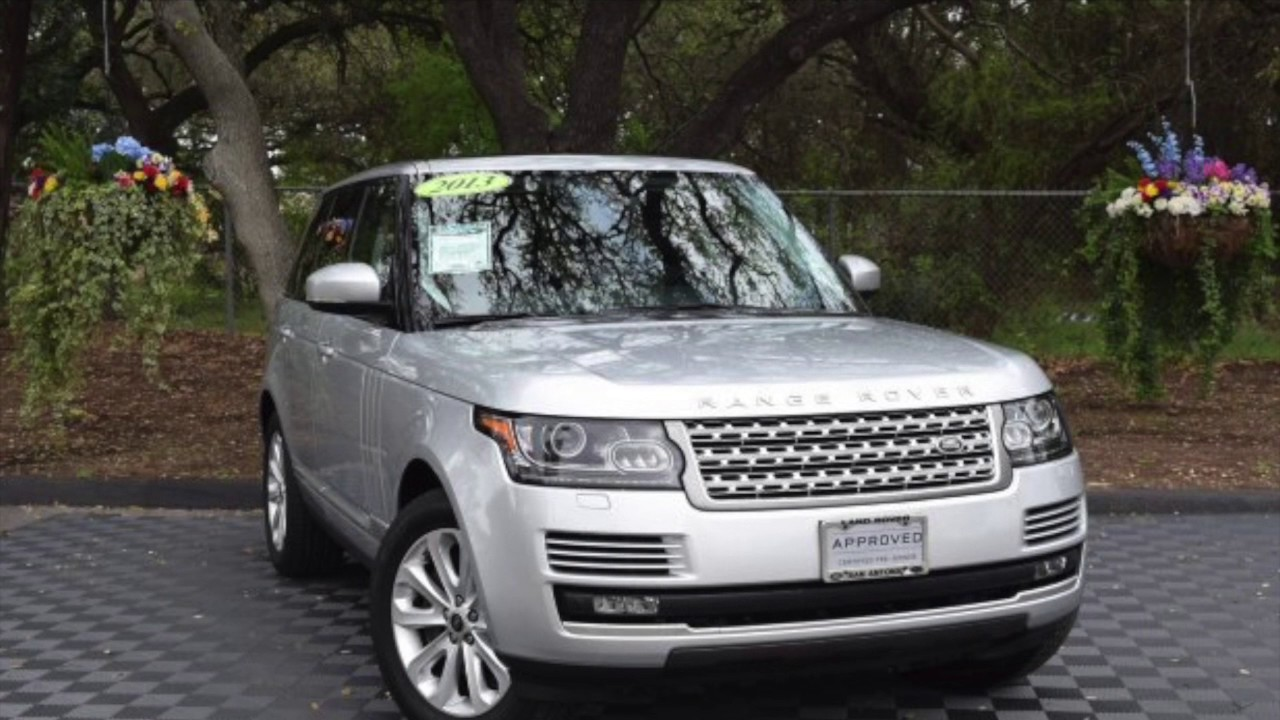 Certified Pre-Owned 2013 Range Rover HSE