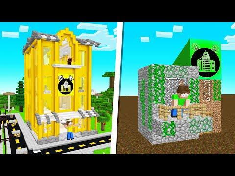 BUILD THE BEST HOTEL CHALLENGE In Minecraft!