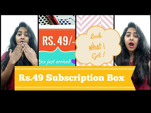 *New*Backstagedressingroom |Rs 49 Subscription box | India | get more for less