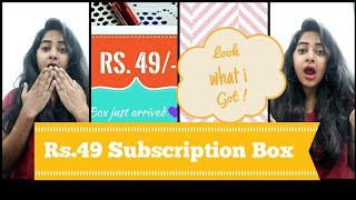 *New*Backstagedressingroom |Rs 49 Subscription box | India | get more for less thumbnail