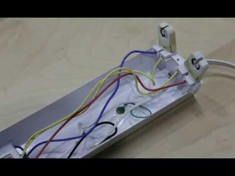 starled t8 / t12 ballast bypass instruction for led g13 bipin tube light