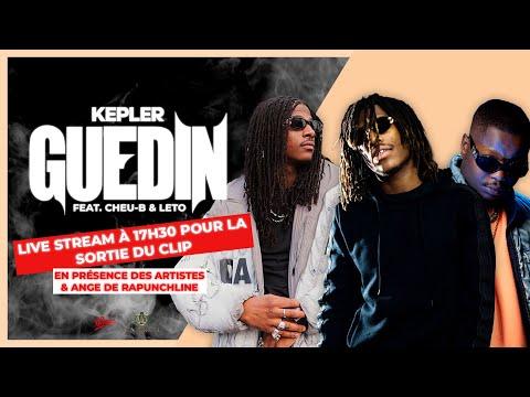 Youtube: Livestream«Guedin» avec Kepler, Cheu-B, Leto et Ange de Rapunchline