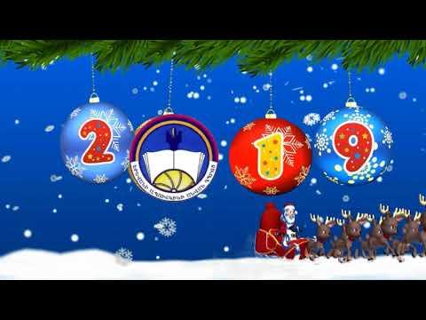 Поздравление 619 школы с Новым годом от друзей из Еревана
