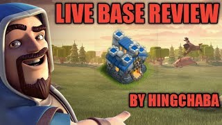 LIVE BASE REVIEW AND JOIN MY CLAN FOR CLAN GAMES LETS CLASH TOGETHER