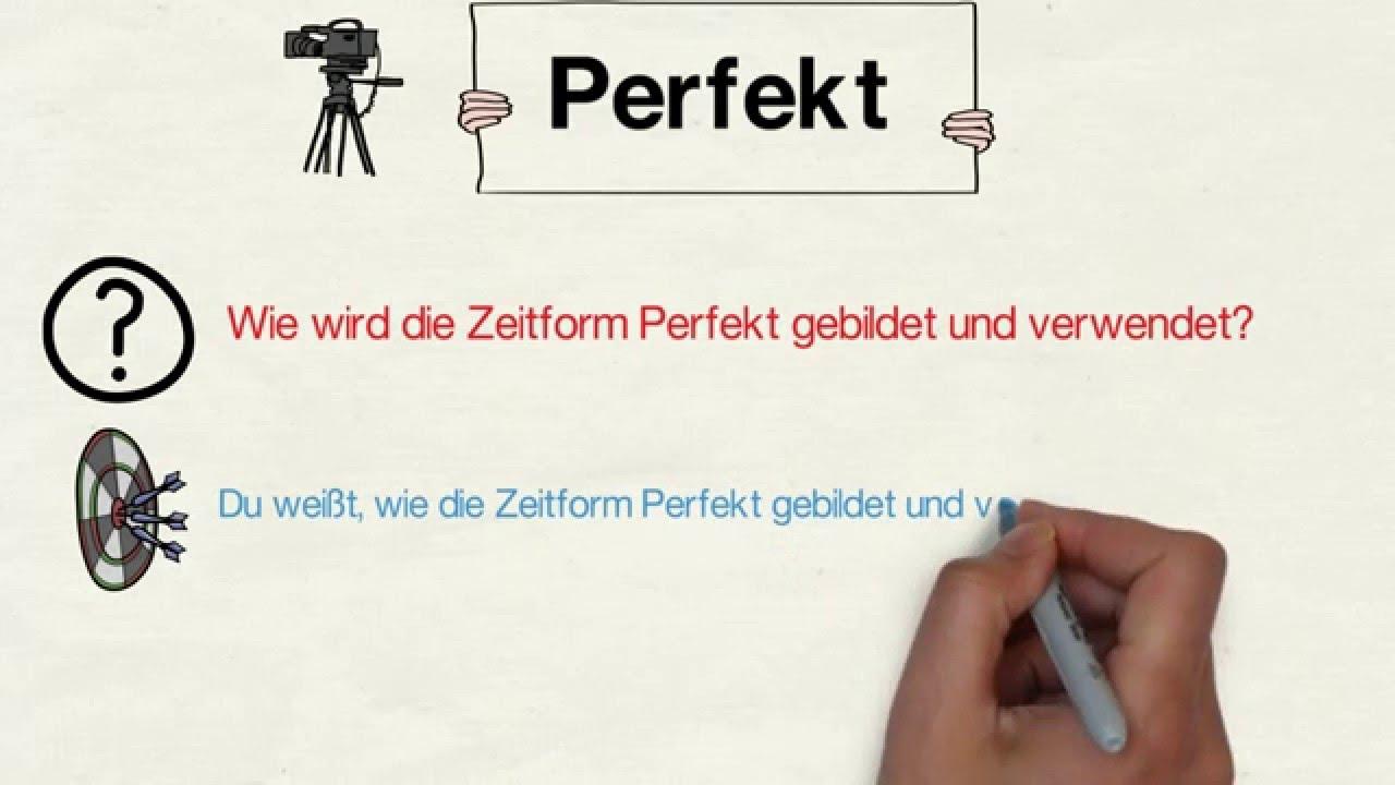 Zeitformen Perfekt Beste Tipps Zum Deutsch Lernen