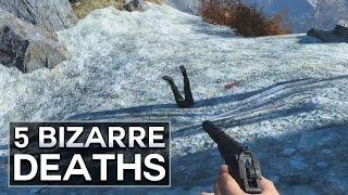 Fallout 4 - 5 Bizarre Deaths