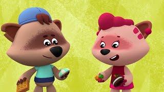 Ми-ми-мишки - Про еду - Все серии о вкусняшках! - Мультики для детей