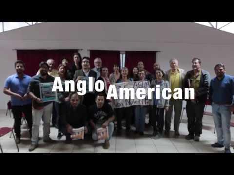 Cuña Grupo no más intervención de anglo American En El Melón