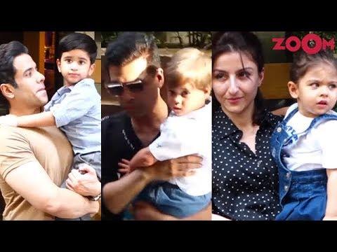 Tusshar Kapoor's son Laksshya's Birthday party : Yash Johar, Inaaya Keemu & more attend the bash