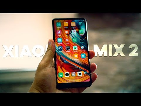 LINDO, TOP, POTENTE E COM OURO! XIAOMI MI MIX 2  - review