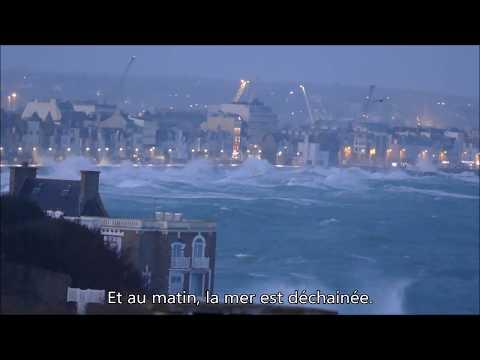 Tempête Ciara à Saint-Malo