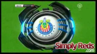 Chivas 3-2 Manchester United - Highlights
