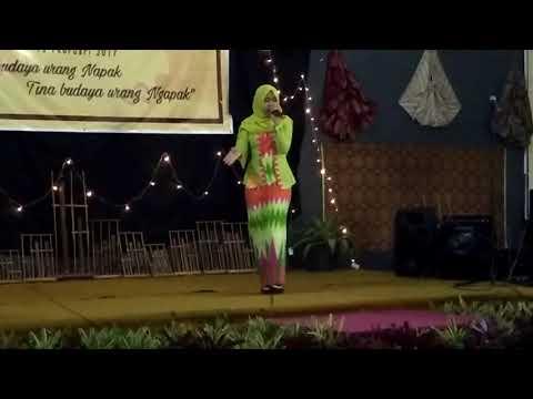 Ratu Jelita Putri, Pupuh Buhun Gambuh Versi Yus, Lomba Di SMAN 3 Sukabumi,  Februari 2017