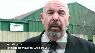 Chatham Kent Arena Concerns Ian McLarty