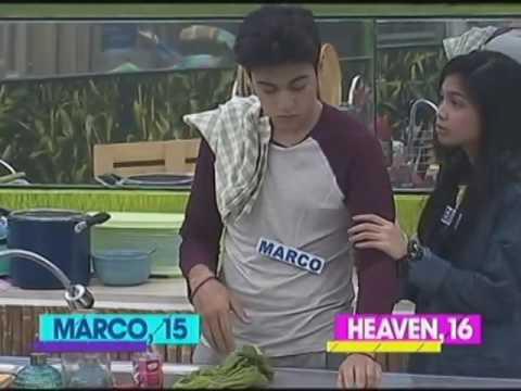 #MarVen - Heaven sinubukang pakalmahin si Marco :)